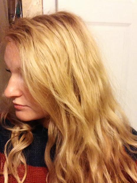 blonde hair salon