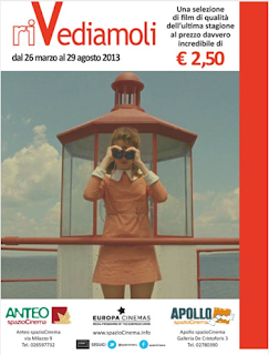 rassegna cinematografica Cinema Anteo Milano 2013