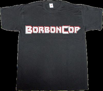 robocop movie fun useless kingdoms spain is different t-shirt ephemeral-t-shirts