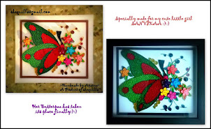 Quilled butterfly - fav of mine
