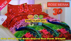 Harga Sprei Bonita Disperse Rose Merak 3d-bmp06 Jual
