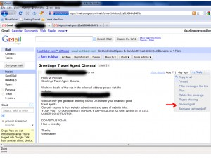 how to find someones ip from ghmail