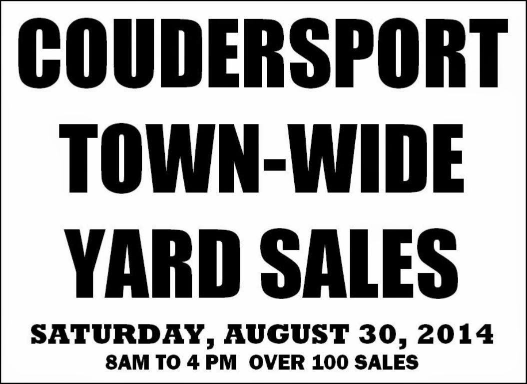 Coudersport Town-Wide Yard Sales