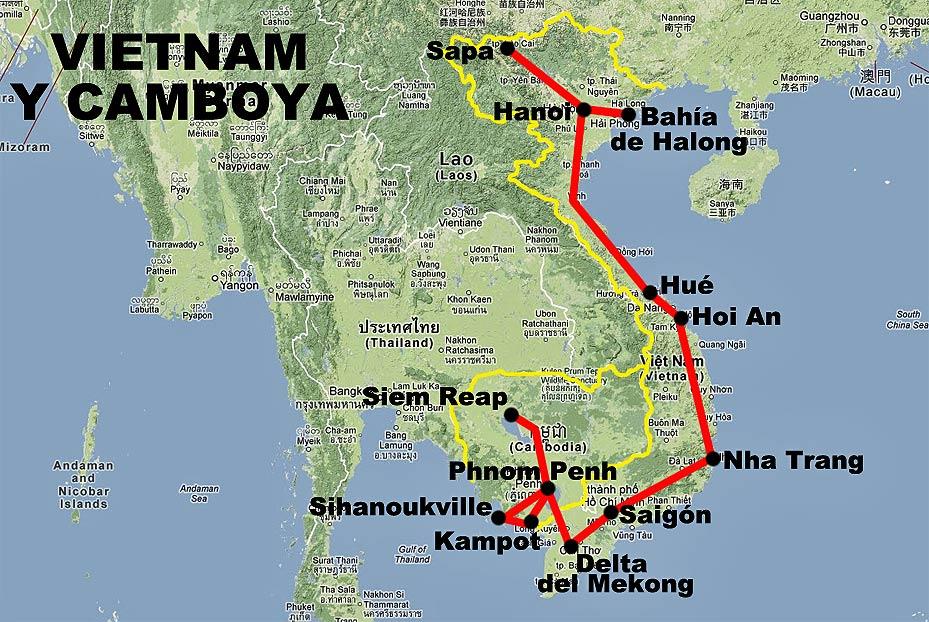 Hoja de Rutas   Blog de viajes: VIETNAM y CAMBOYA (agosto 2012)
