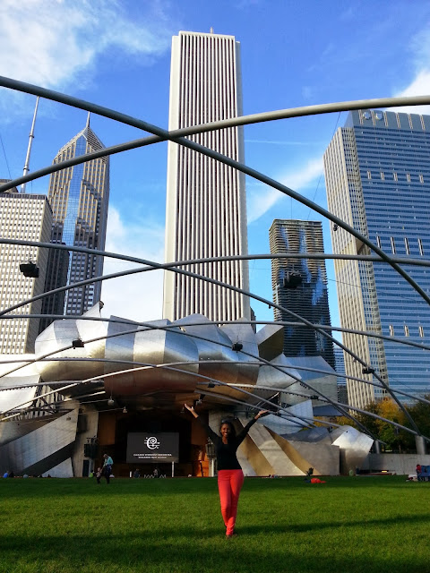 GlamorousGia at the Millenniumpark in Chicago.