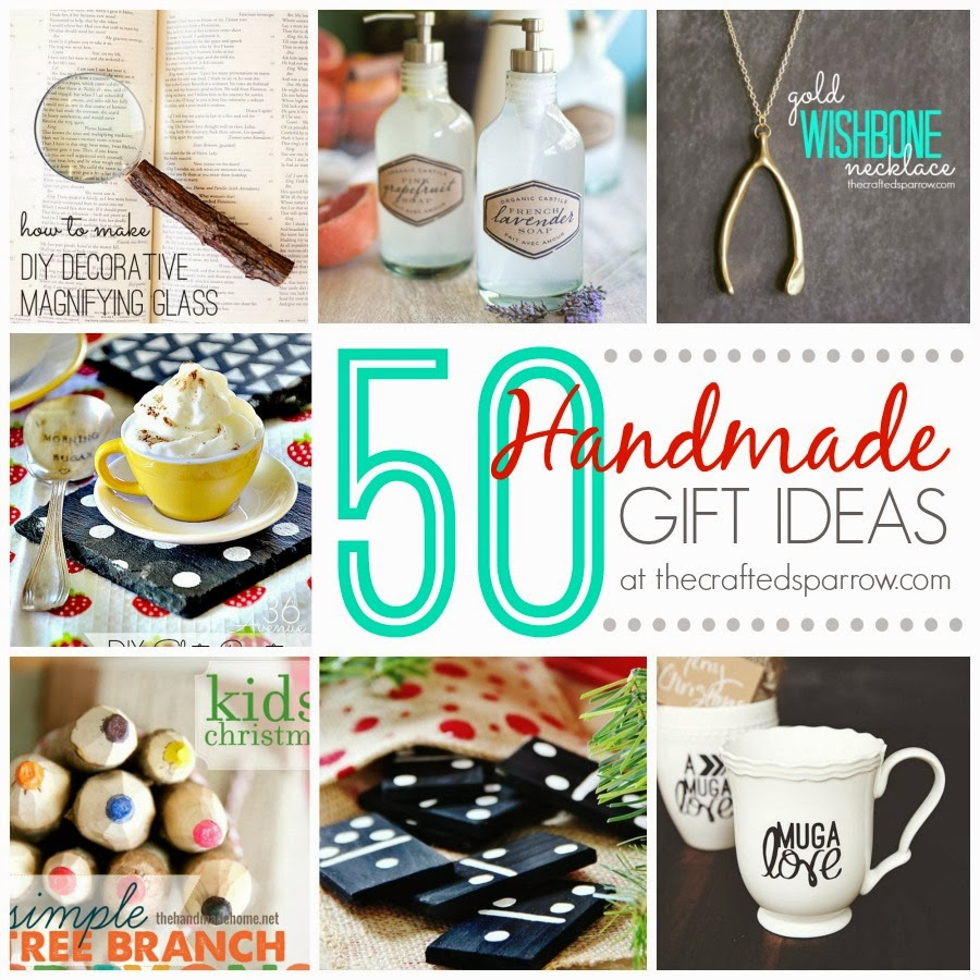 Handmade Gift Ideas: 50 Handmade Gift Ideas
