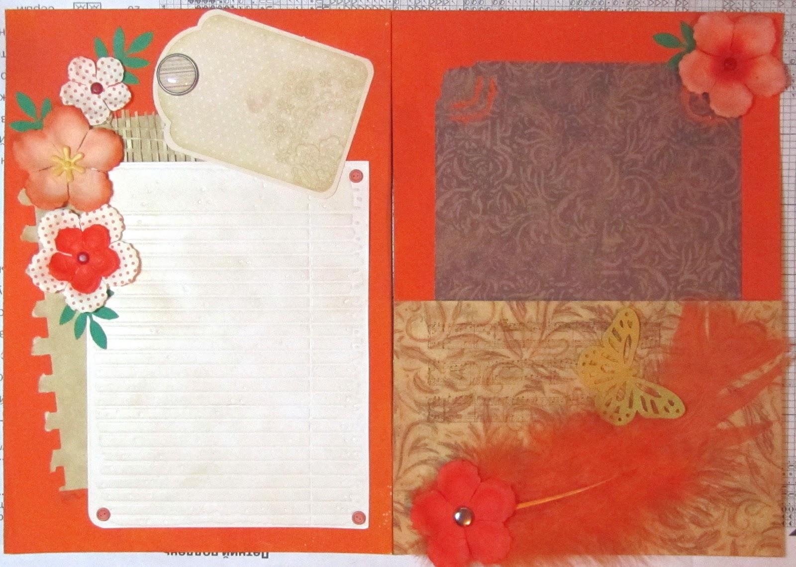 Блокнотик из 1 листа бумаги