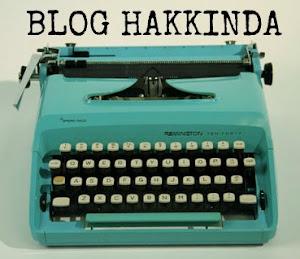 Etiket: Blog Hakkında