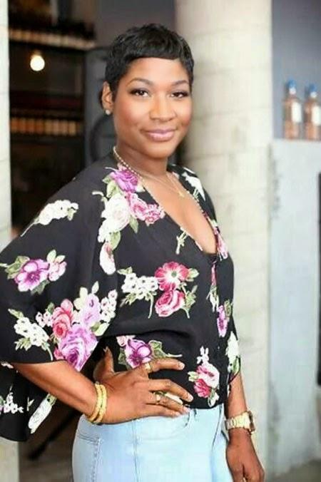 Coiffures de 2015 pour femme noire edition cheveux black - Coupe afro courte peaux noires et metissees ...