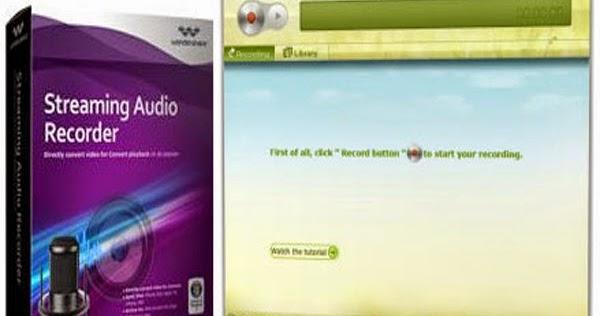 registration code for wondershare streaming audio recorder
