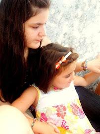 Con mi prima Iris ♥