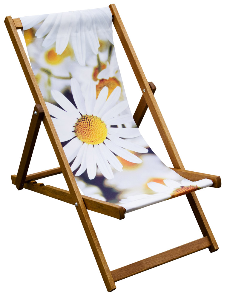 poppy and sunflower deckchair designs eyes wide digital ltd. Black Bedroom Furniture Sets. Home Design Ideas