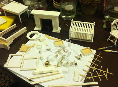 Doll House supplies