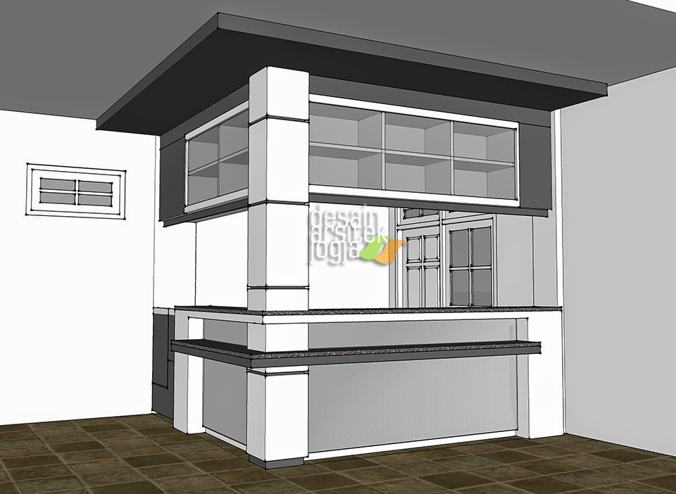 konsep desain minibar minimalis modern karya desain arsitek jogja ...