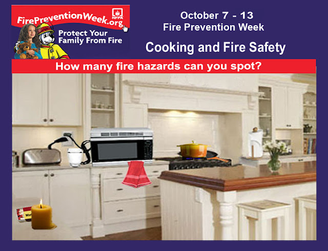 Wellness news at weighing success fire prevention week for 5 kitchen safety hazards