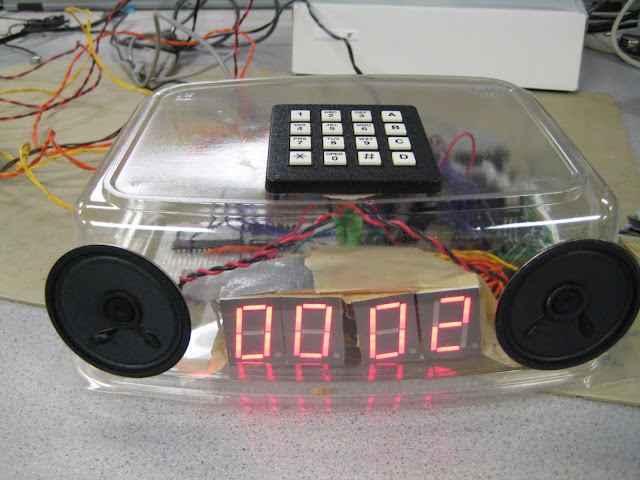 Talking or speaking alarm clock