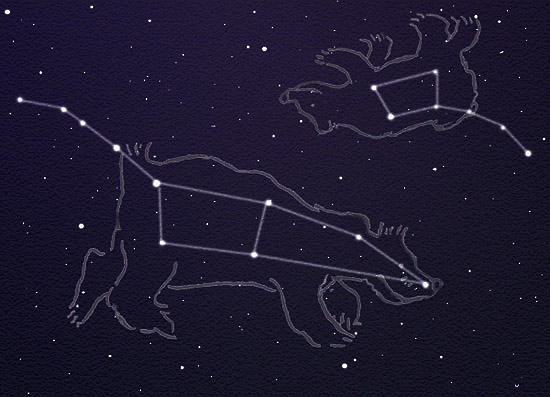 Constellations Ursa Major And Minor Mariko Nightfire: A Vi...