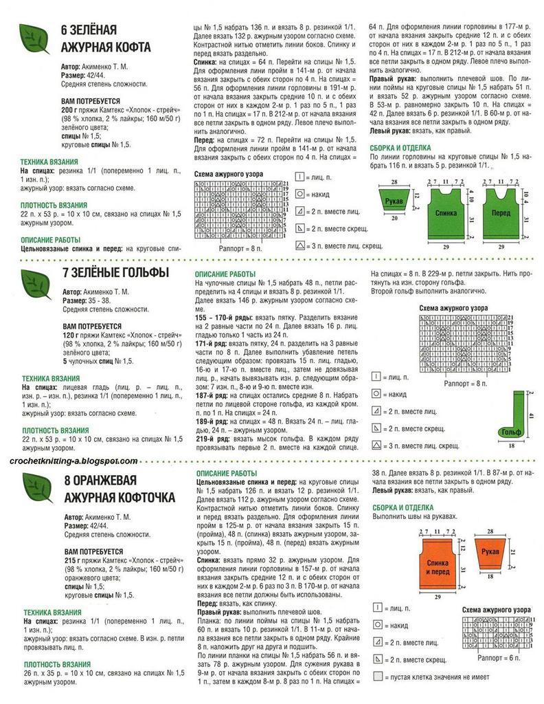 Гольфы крючком схемы и описание фото