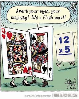 poker funny, flashcard funny