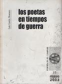 Los poetas en tiempo de guerra