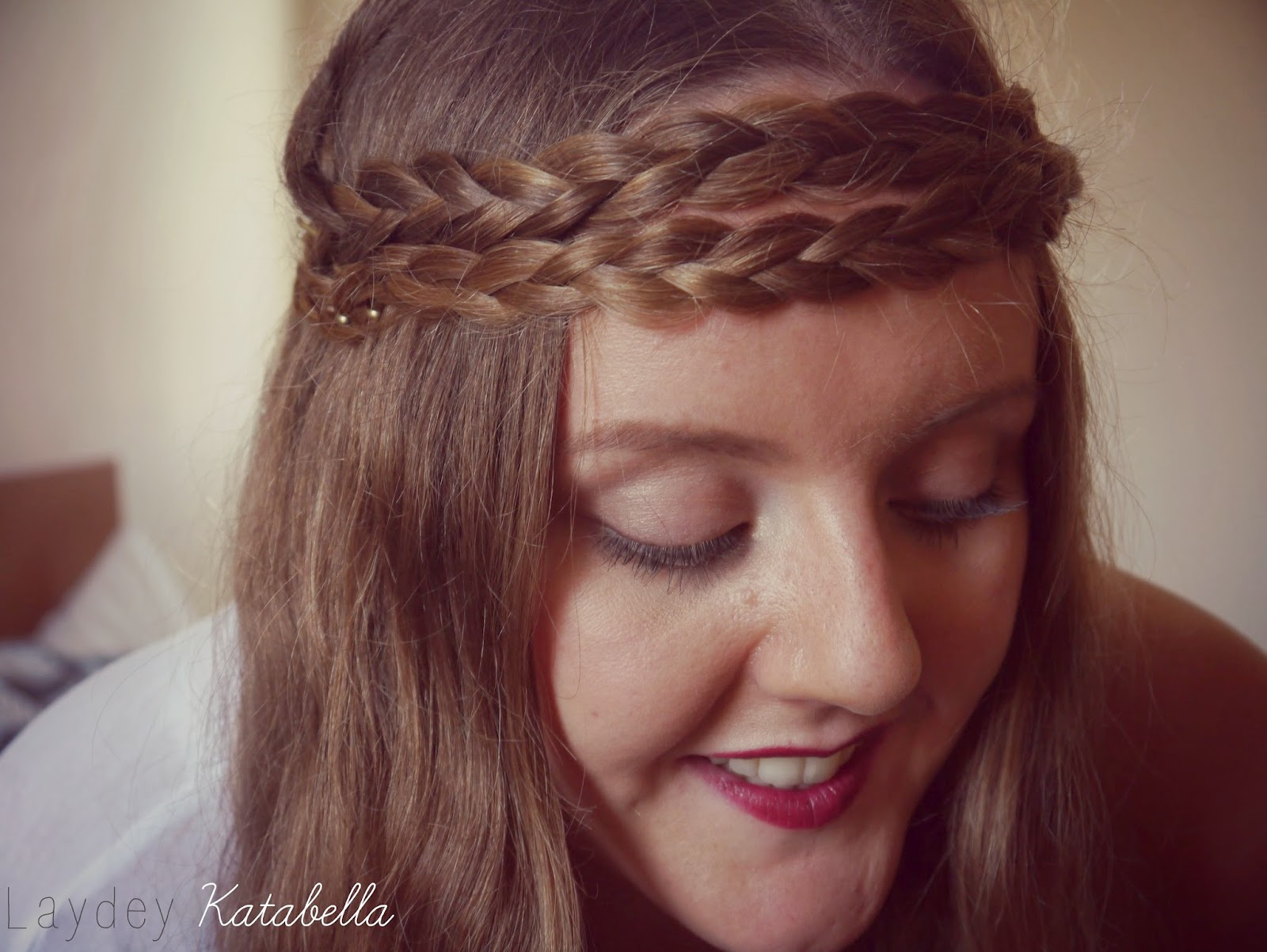 photo of braided headband