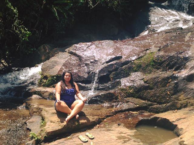 meditação na cachoeira