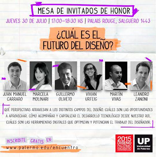 Agenda - Encuentro Latinoamericano de Diseño UP