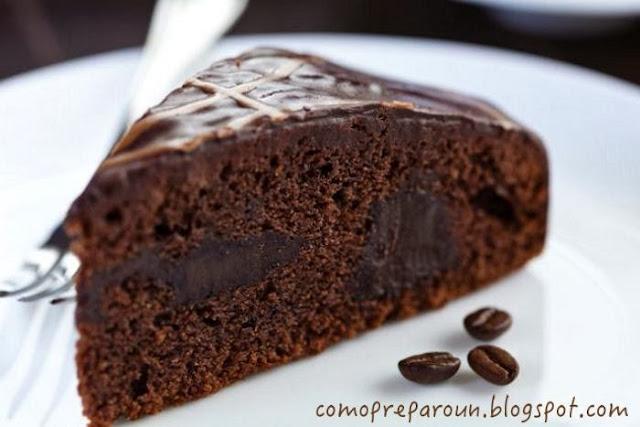 TORTA NEGRA DEL DIABLO - RECETA - Chocolate - Recipes - comopreparoun.blogspot.com