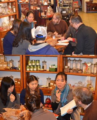 Photo de réunion chez Lihua