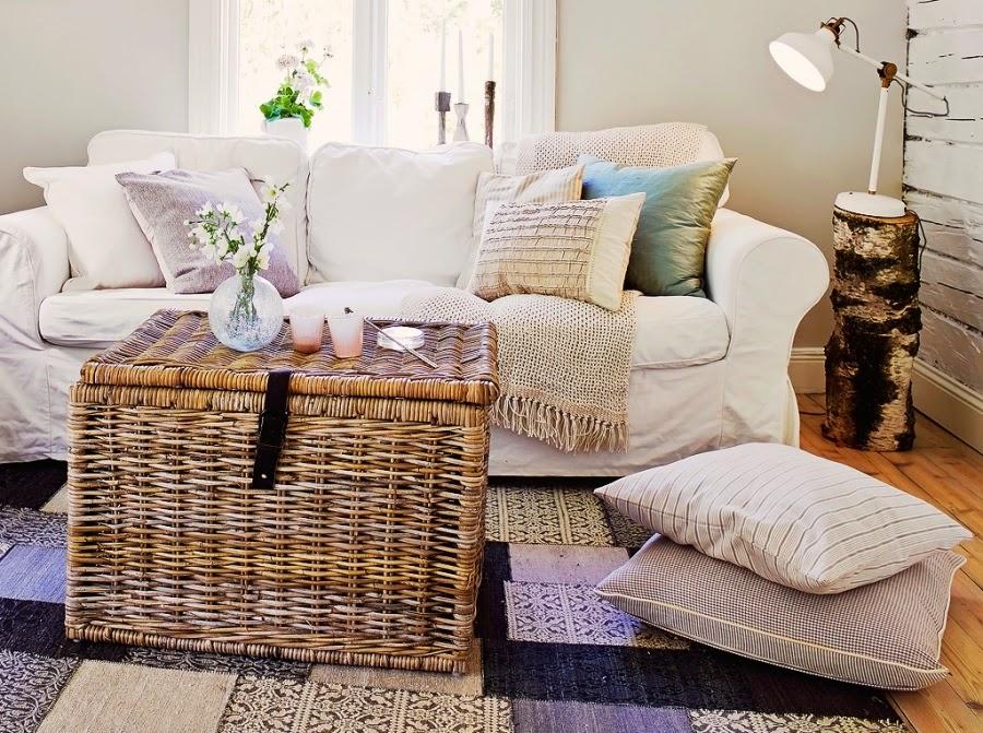 dom, wystrój wnętrz, wnętrza, home decor, styl skandynawski, białe wnętrza, shabby chic, , salon, pokój dzienny, kont wypoczynkowy
