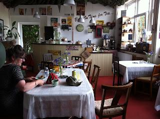 1940s tea shop