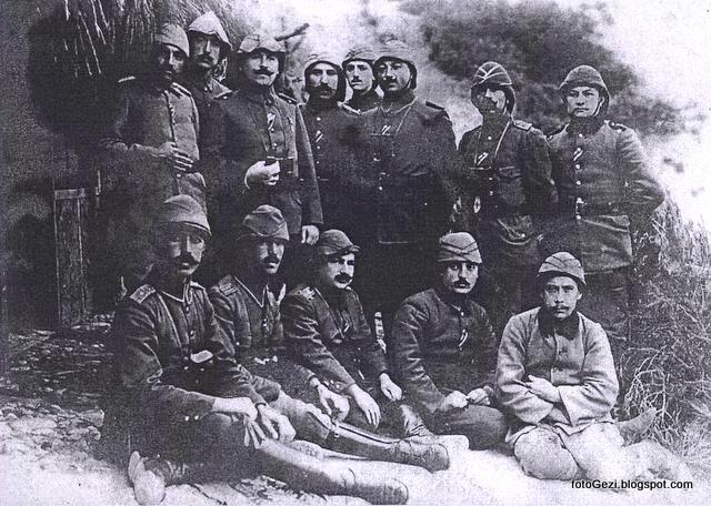 57. Alay Komuta Heyeti Çanakkale Savaşında