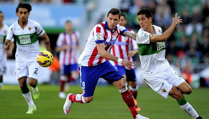 Atletico Madrid vs Elche en vivo
