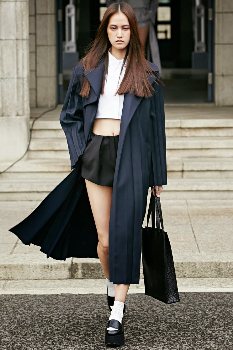 Fashion Runway Low Classic Spring Summer 2014 Ready To Wear Seoul Cool Chic Style Fashion