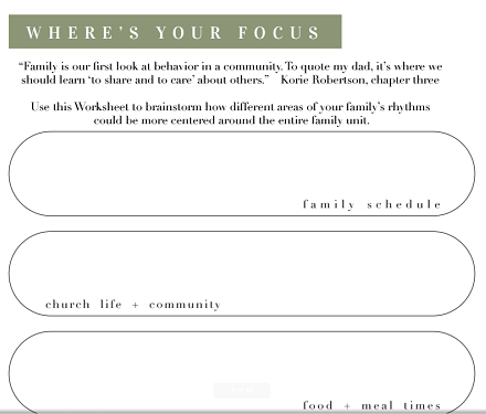 strong and kind workbook sample page