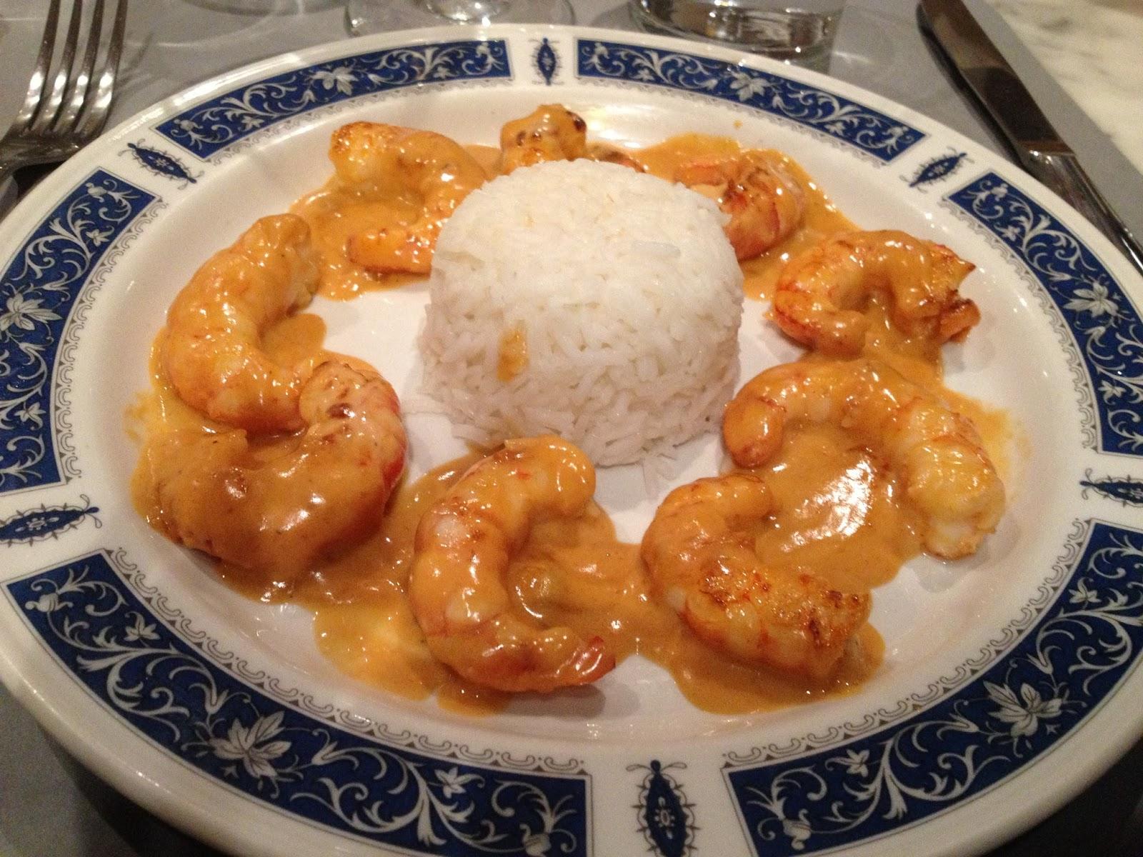 Una mesa para dos o m s 2 langostinos al curry - Restaurante adrede ...