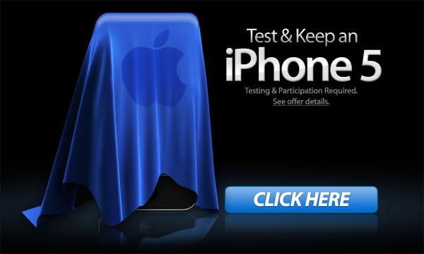 Win a Free iPhone 5 Online