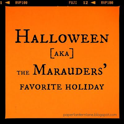 Halloween is the Marauders' Favorite Holiday