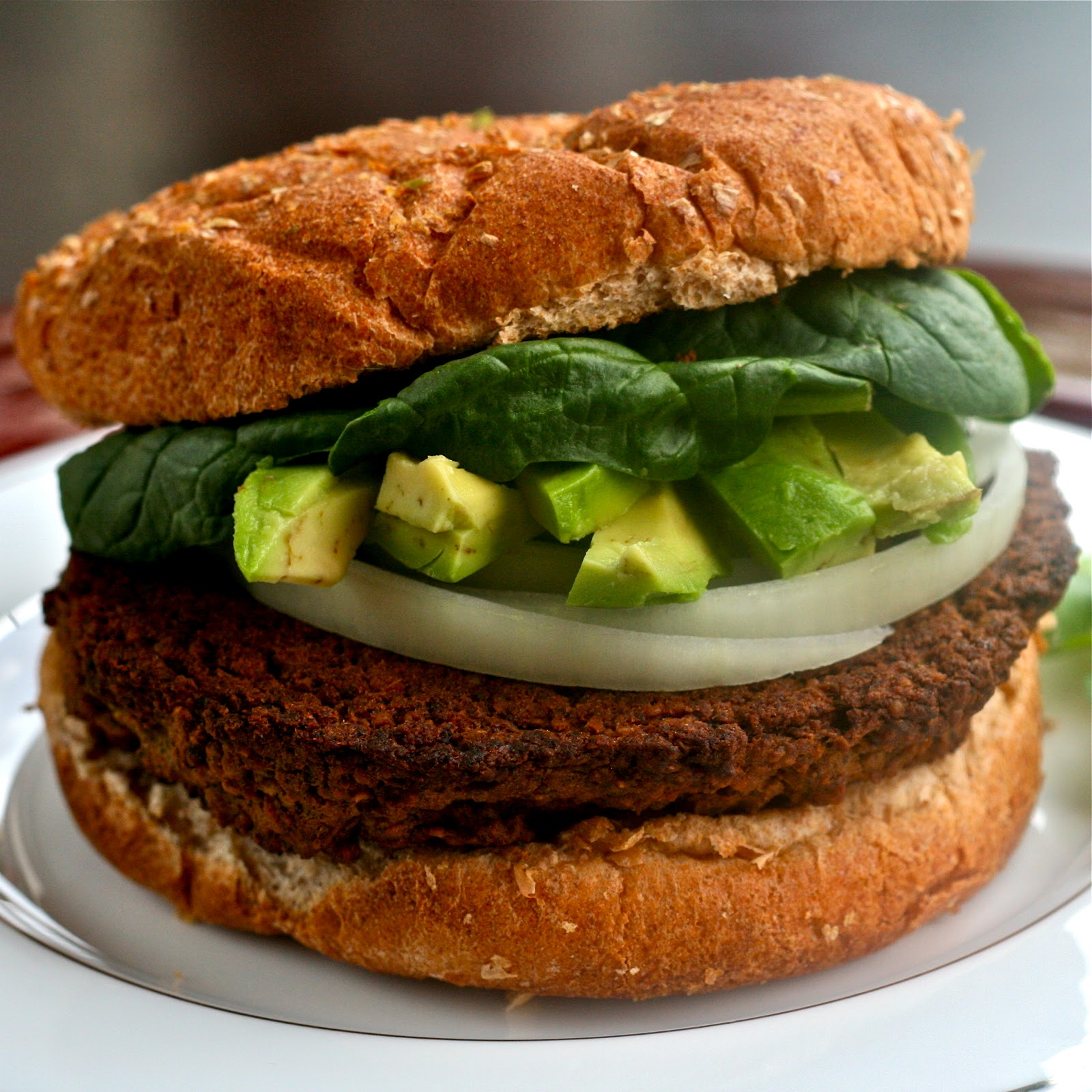 is for: Black Bean & Veggie Burger