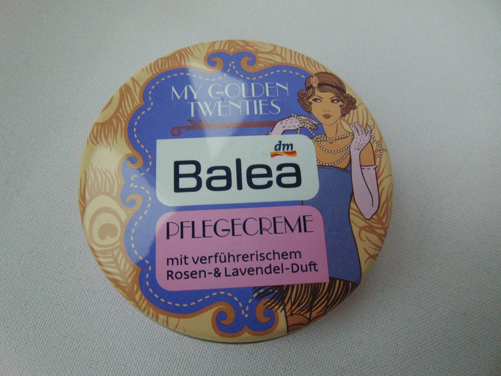 Balea Pflegecreme - My golden Twenties - www.annitschkasblog.de