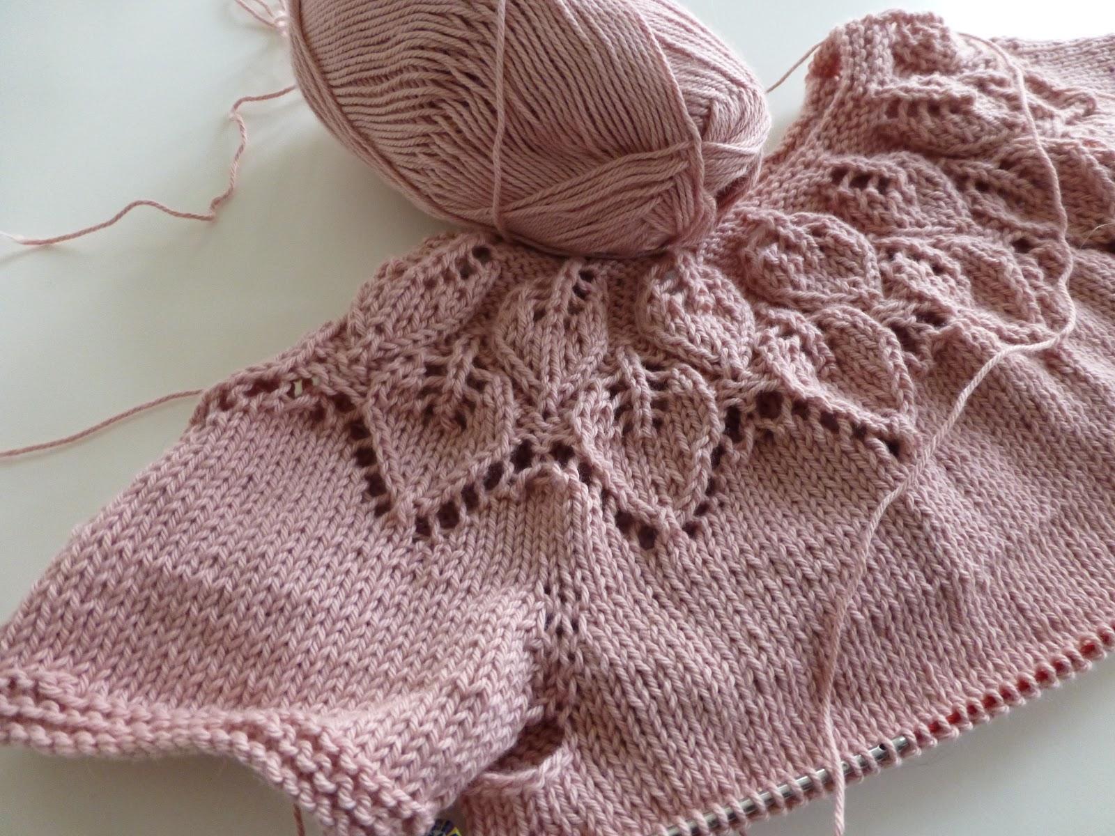 Bella Baby Knitting Patterns : Ulla: Den sk?nneste lille kjole bliver det til