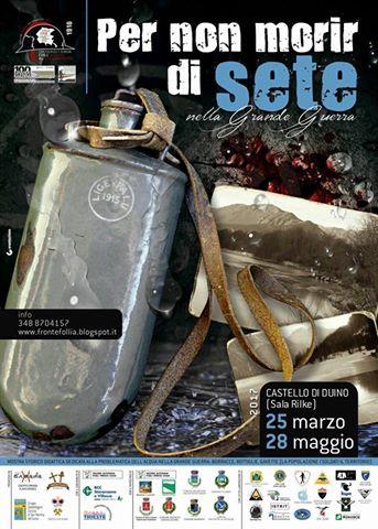 """""""PER NON MORIR DI SETE"""" AL CASTELLO DI DUINO"""