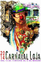 Carnaval de Loja 2014 - A que no me conoces - Raúl Astorga Siles