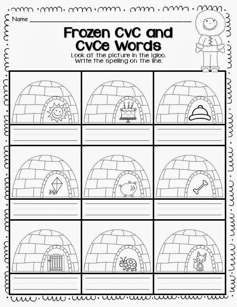 Worksheets Cvce Worksheets first grade and fabulous differentiated worksheets for common core worksheets