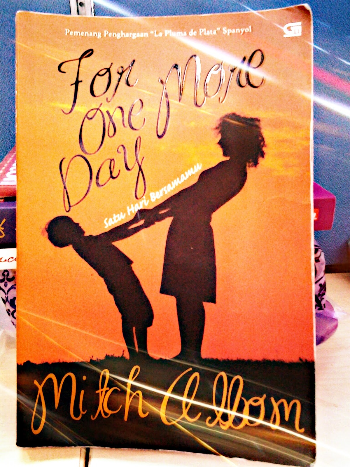For One More Day By Author Mitch Albom