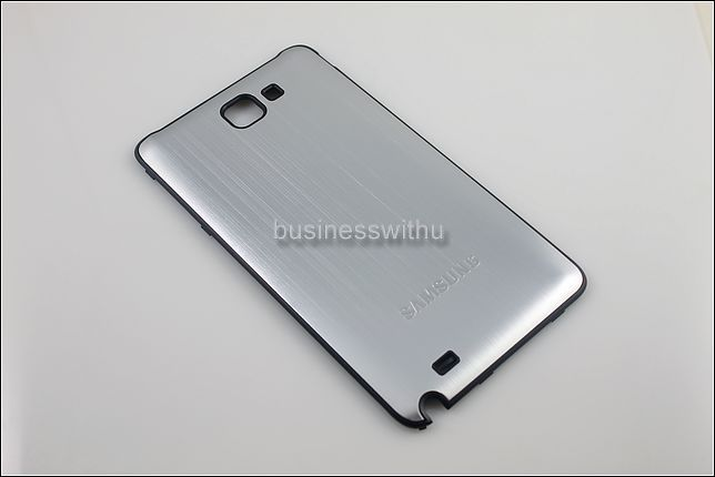Metal Back Battery Cover Case Door For Samsung Galaxy Note GT N7000 i9220 Silver