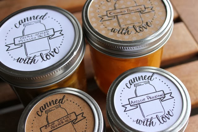 Best FREE Canning Jar Labels on the Net | Proverbs 31 Woman