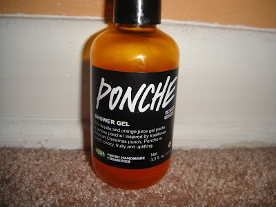 lush, lush review, lush ponche, lush ponche review, lush body wash, lush shower gel