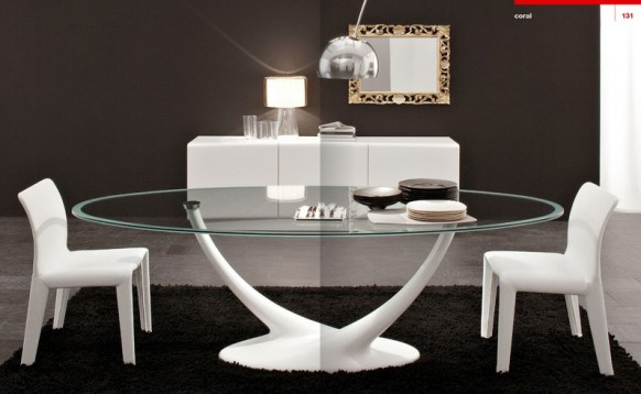 Contemporary and modern dining tables for Contemporary dining table designs