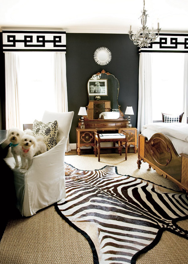 Black and charcoal gray paint colors for our home office - Black painted bedroom walls ...